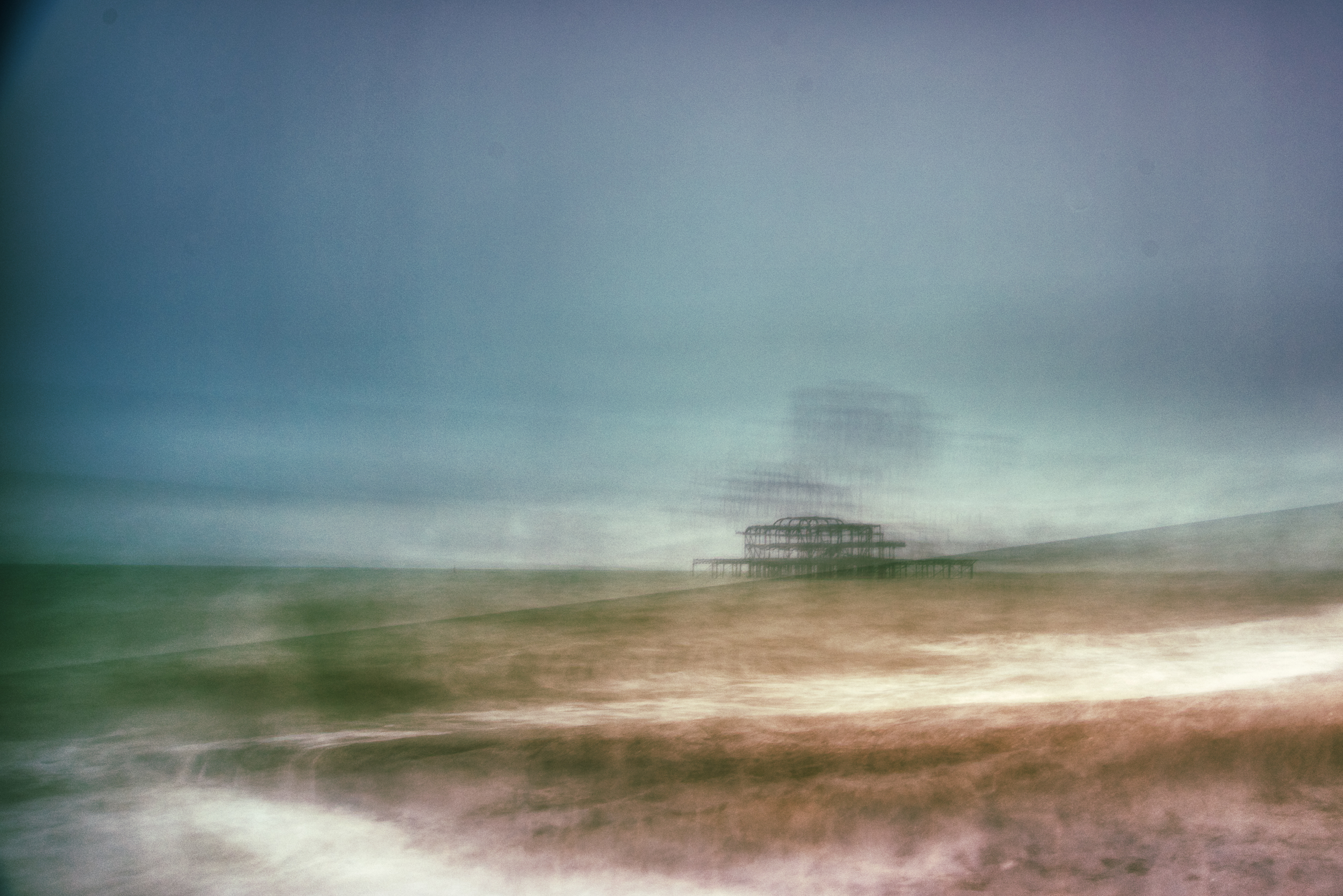 West Pier Long Exposure Gone Wrong