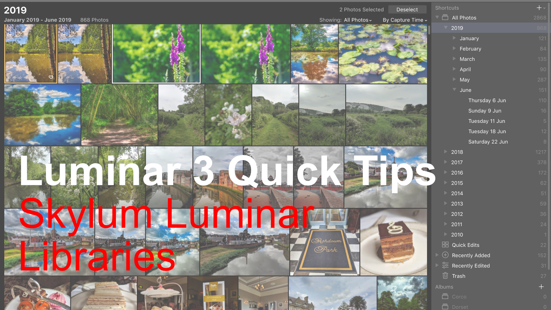 Luminar 3 Quick Tips | Skylum Luminar Libraries