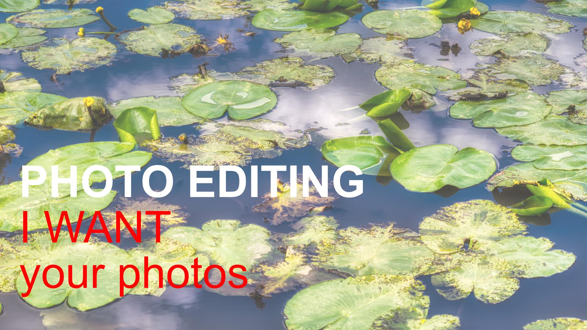 I Want Your Photos to Edit on Skylum Luminar