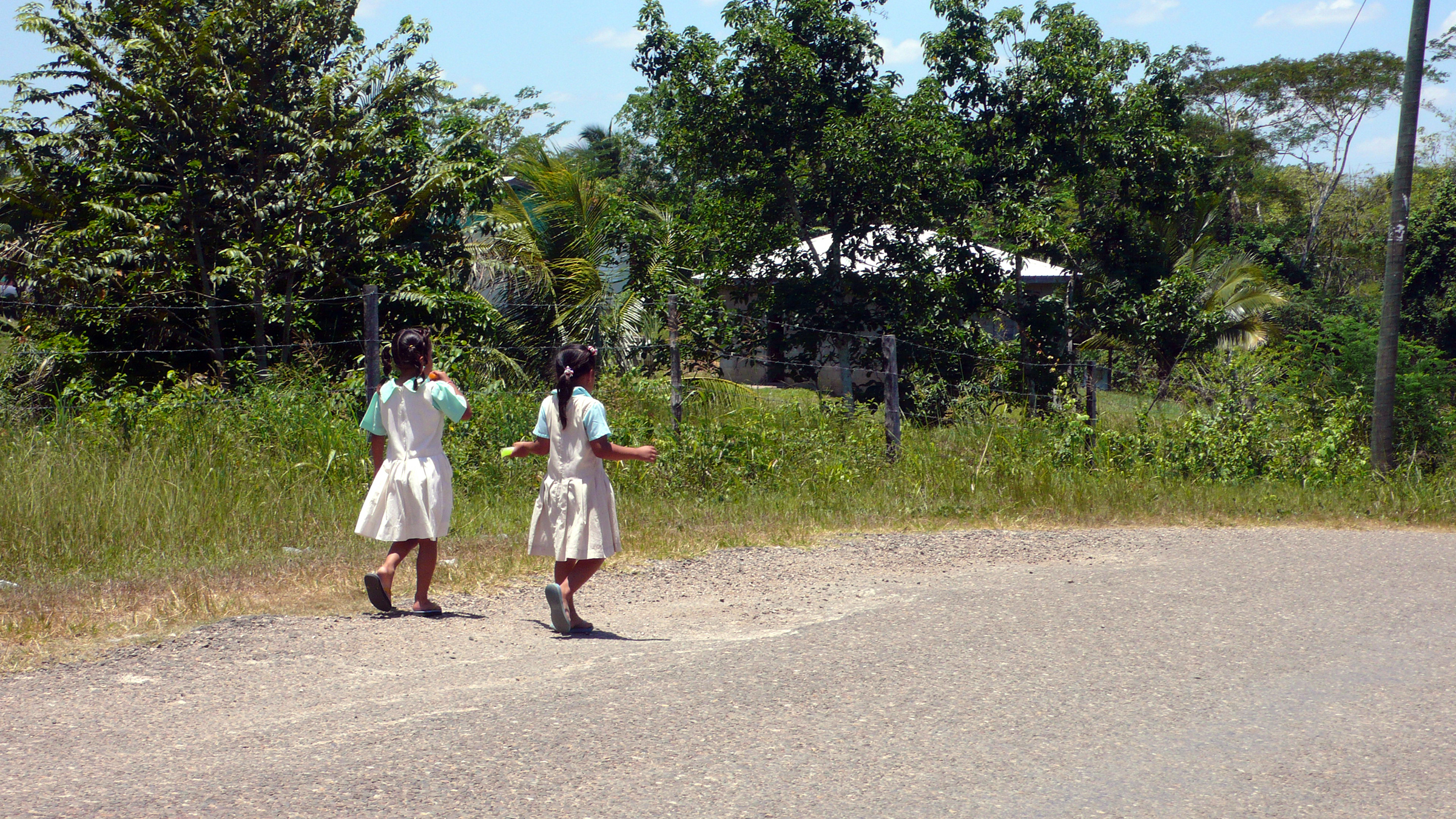 Photo taken while conducting fieldwork in Belize about access to health care