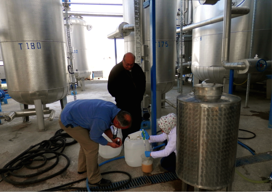 Image taken at a whey ethanol facility in Turkey.