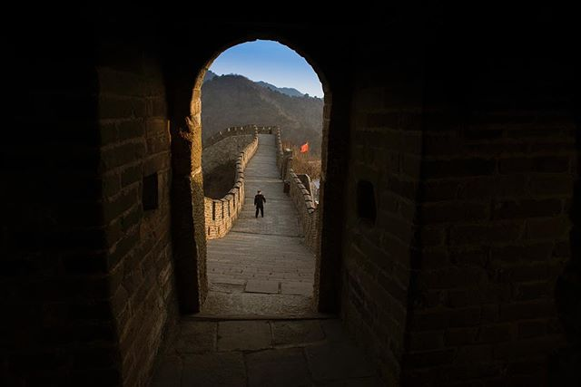 #china #greatwall #streetphotography #somewheremagazine #greatwallofchina #communist #travel #asia