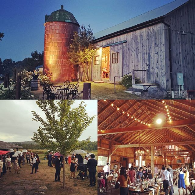 Beautiful night @southpondfarms yesterday! Congratulations Jodee & Craig! #wedding #ontariowedding #beautifulontario #torontoweddingband