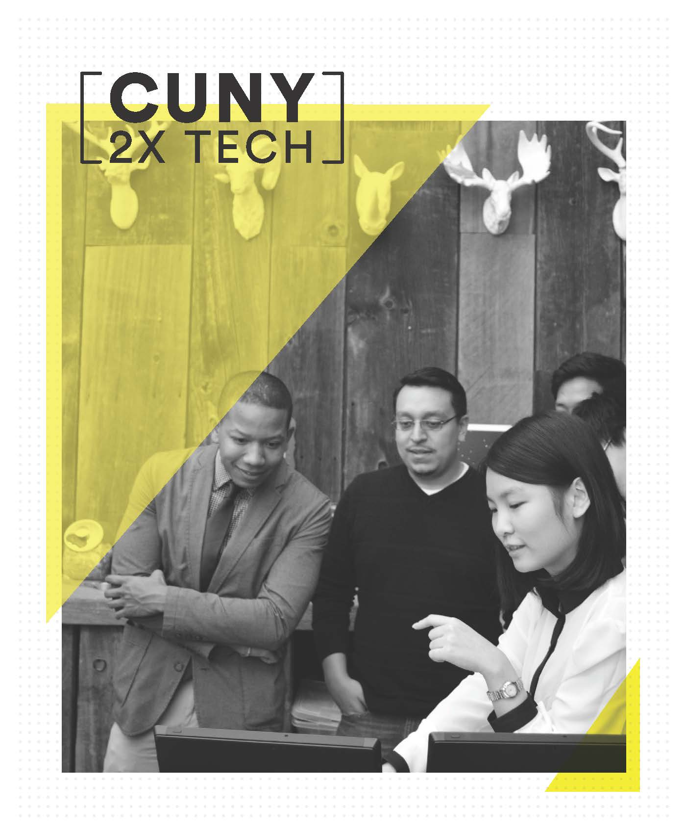 CUNY 2x Tech - Learn about the $20 million initiative to double the number of CUNY students graduating annually with a tech-related bachelor's degree prepared to launch careers in the NYC tech ecosystem.