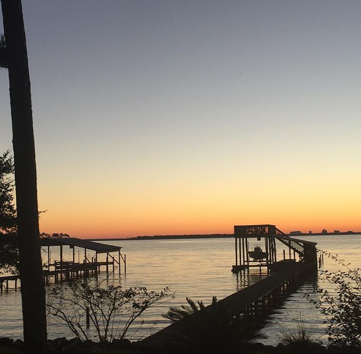 Another beautiful sunset at my family's home on Arnica Bay in Josephine.