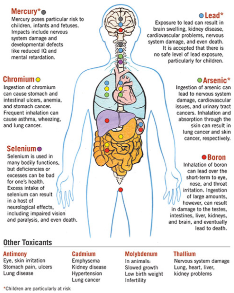 Source: Image from  Coal Ash: The toxic threat to our health and environment, A Report From Physicians For Social Responsibility and EarthJustice