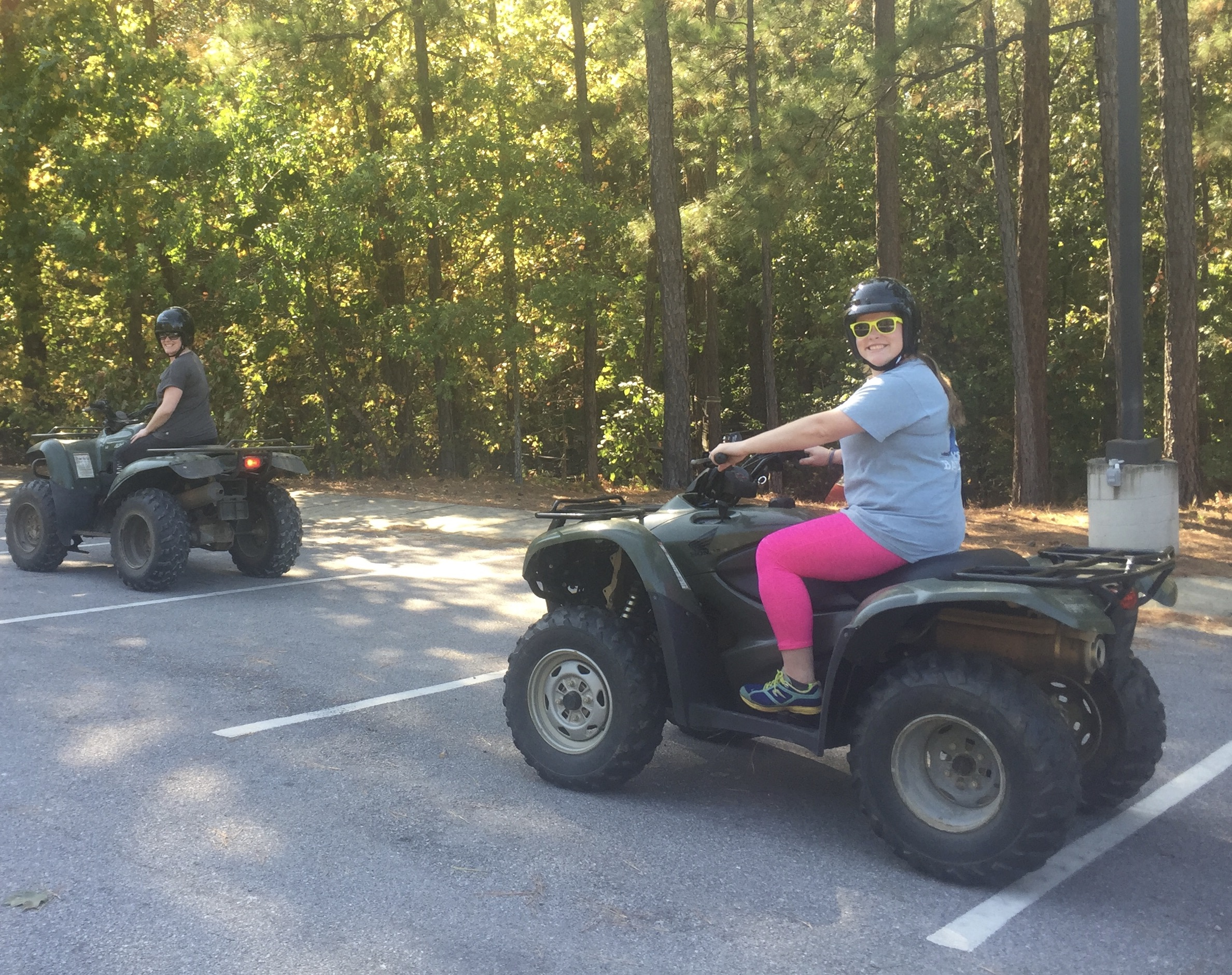 ATV Handling with  Michael East & Ben Montgomery from the Department of Conservation . Learning how to safely operate a 4-wheeler gets you one step closer to exploring uncharted natural places so off we went!