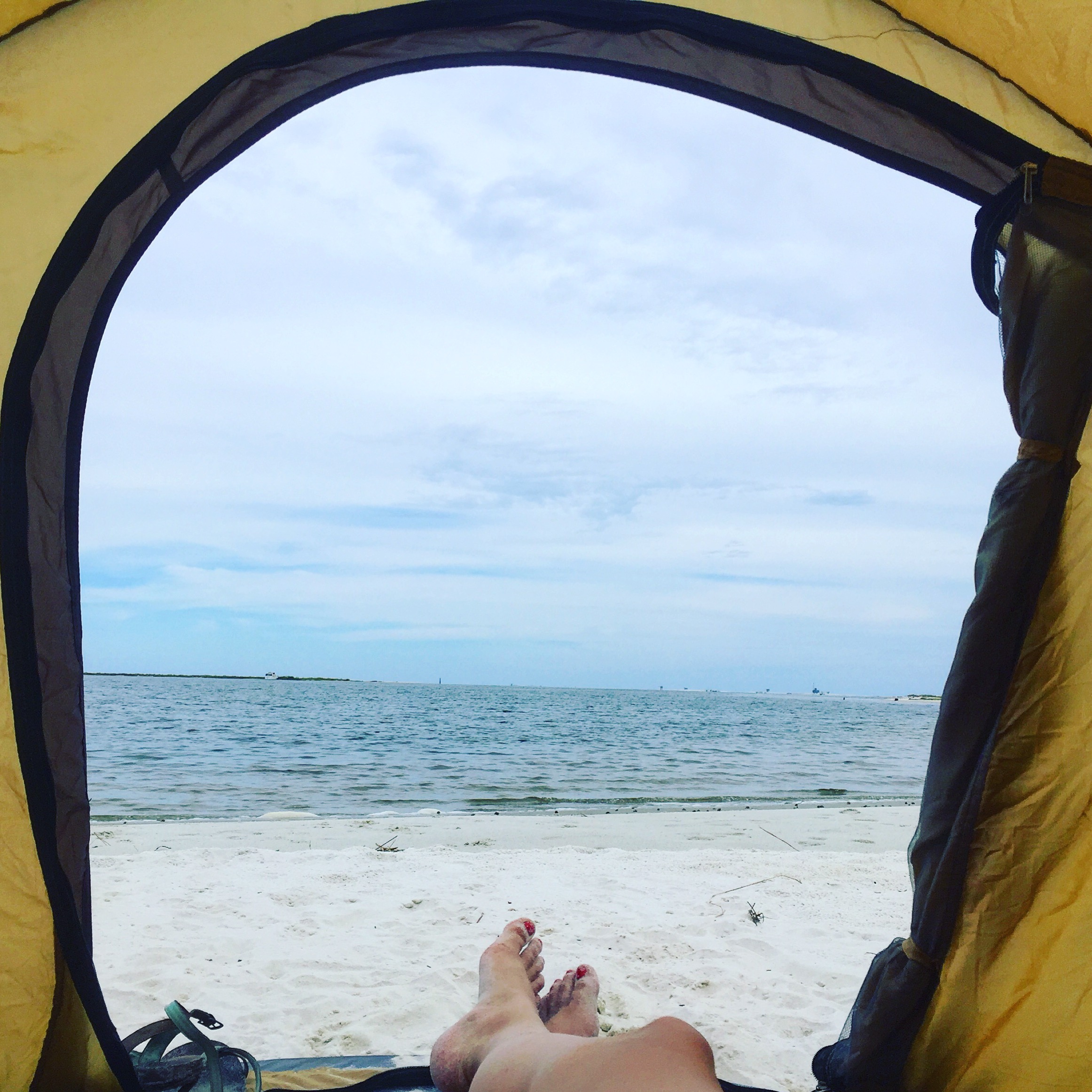 Relaxation time at Dauphin Island.