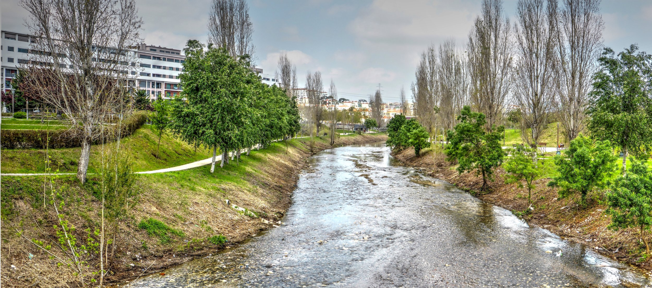Riparian buffers protect water quality in streams and make them more desirable places to recreate and enjoy.