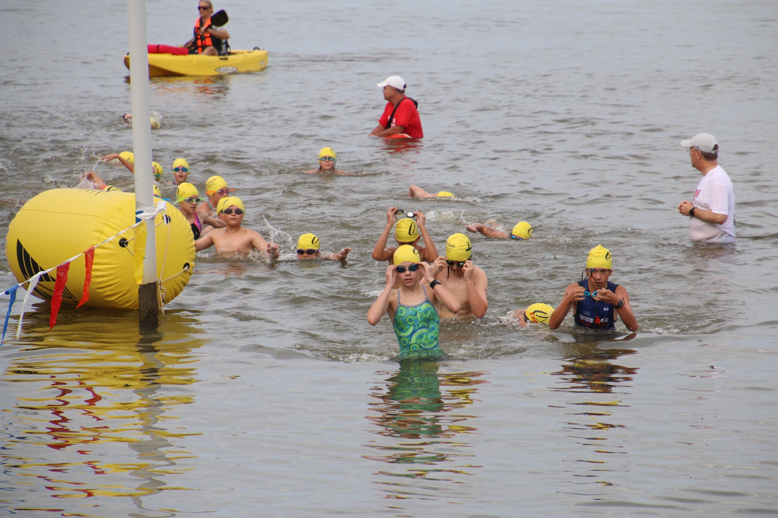 We had a great time partnering with Eastern Shore Triathlon Club to co-host the Jubilee Kids Triathlon this year!
