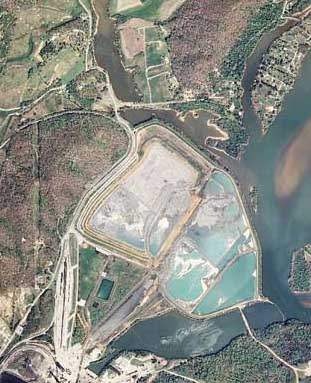 Kingston Coal Ash Spill Before and After