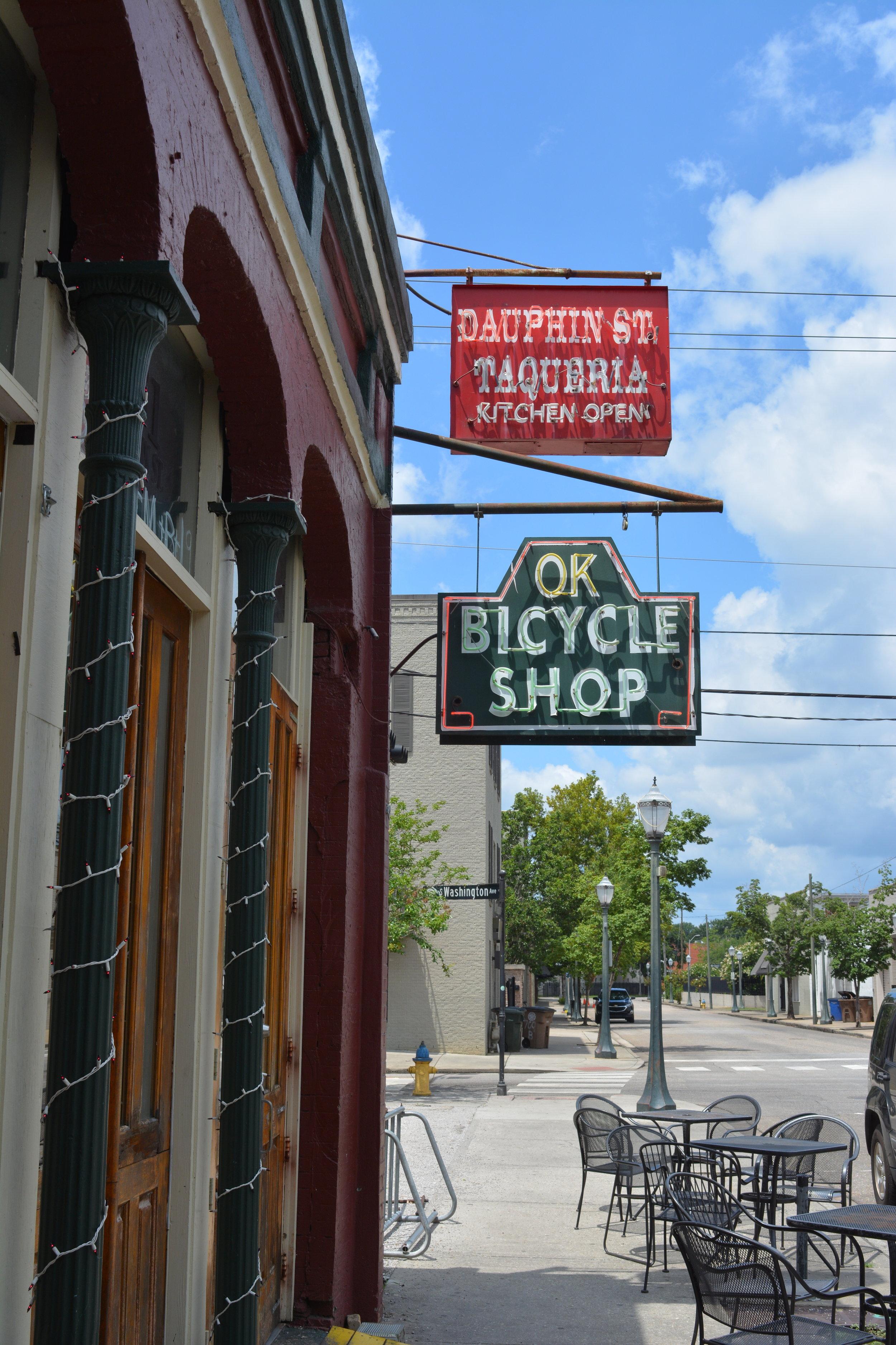 OK Bike Shop Sign.JPG