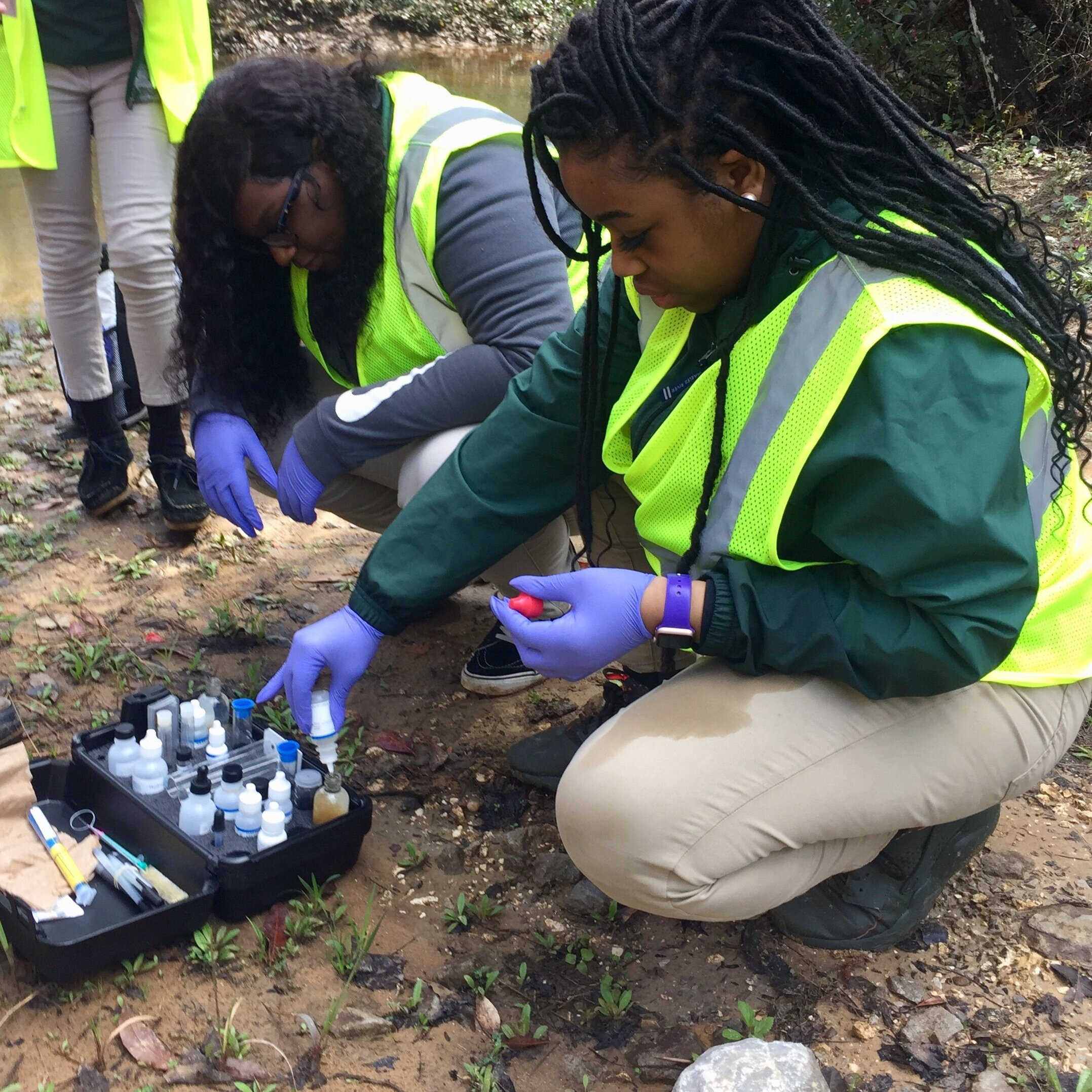 Strategic Watershed Awareness & Monitoring Program (S.W.A.M.P.) - See where we teach and how to become a water quality monitor.