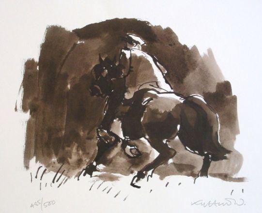 - Kyffin Williams, Horse Rider Patagonia