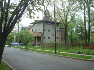 New construction on Patton Avenue in Princeton.
