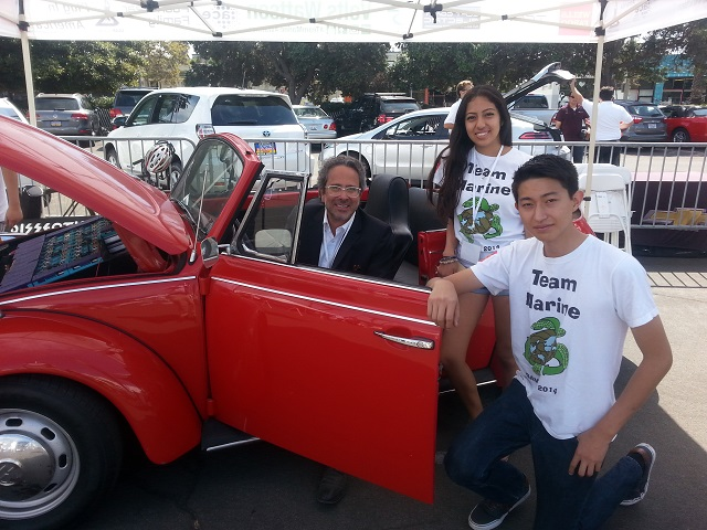 Assembly Member Bloom with Team Marine and Electric Bug