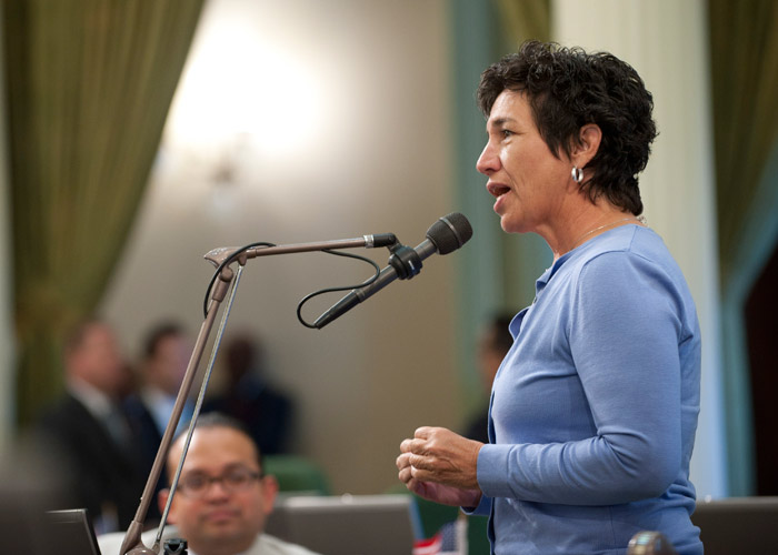 Asm. Susan Eggman, Californians Against Waste's 2015 Recycling Legislator of the Year