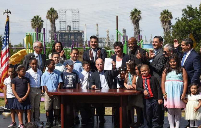 SB 1383 signing ceremony held this morning in Long Beach
