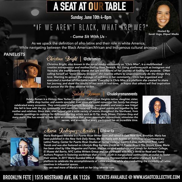 BK ...this is where I'll be today! Come through...let's talk! @aseatatourtable4