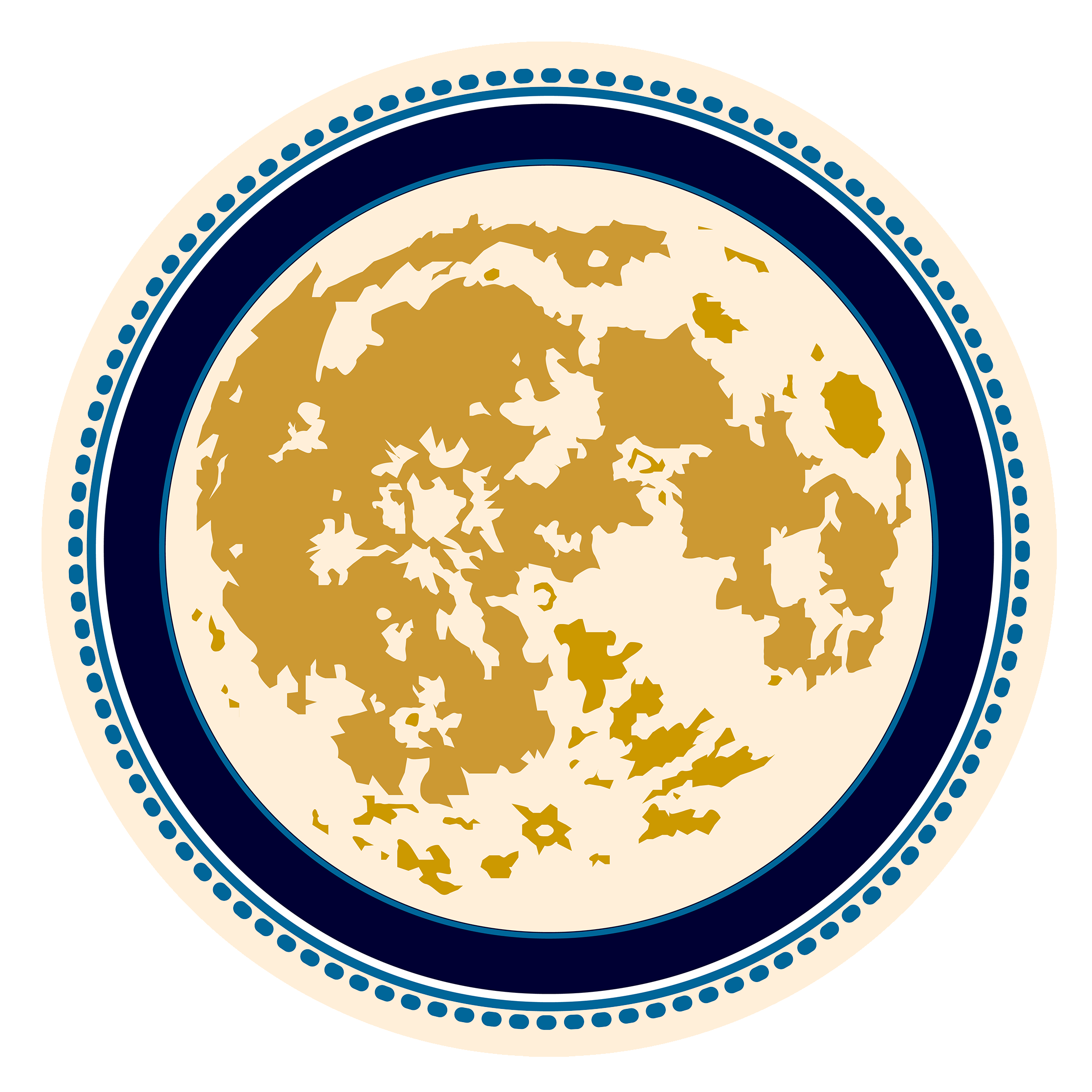 The moon is such an inspiration for me that I decided to make it the center of my logo. Each time I see it I am reminded to dream big ... to take action to make those dreams come alive. Moon Logo for Girard Illustration © 2016 by Kristen Girard.