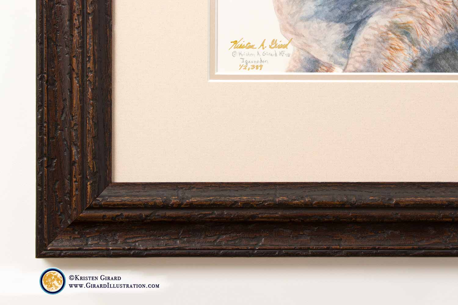 Ever get tired of seeing nothing but glare when trying to look at an artwork framed with glass? Yah? Me, too.     That's why we only use Museum Glass when framing original art or prints on fine art paper. There is so little glare you won't believe the glass is there!