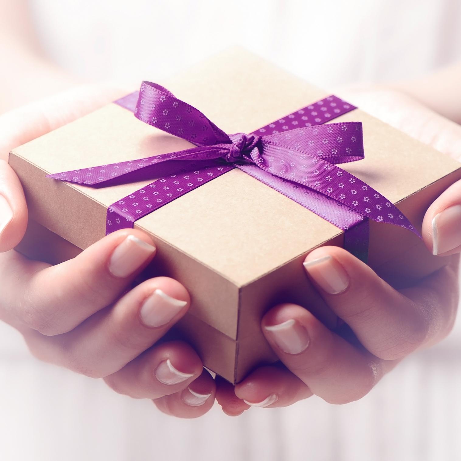 give a joy - ->