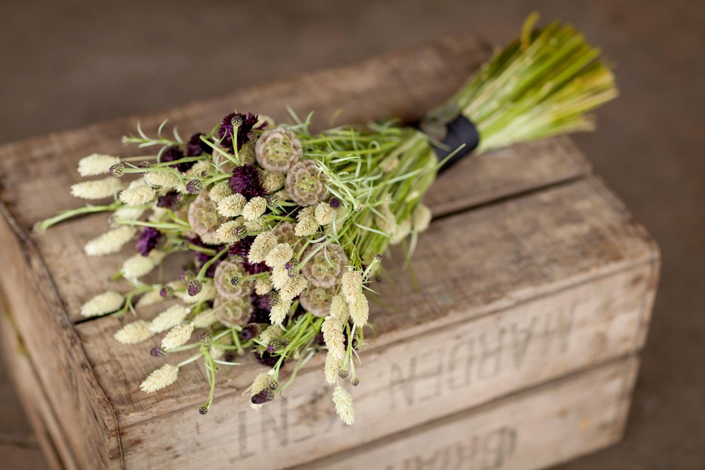 Zita Elze cornflower bouquet
