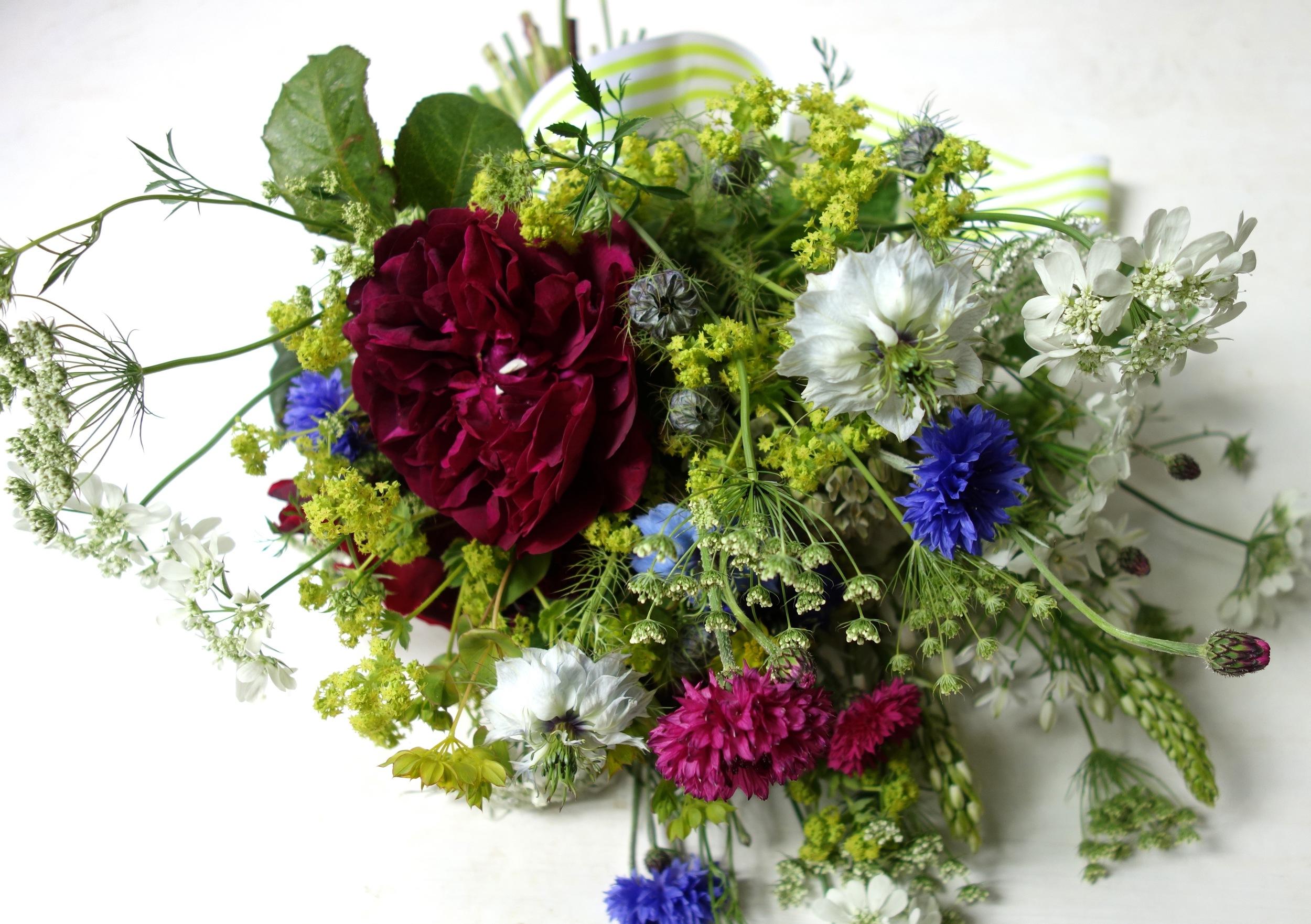 Vanessa Birley Florals bouquet for BFW 2015
