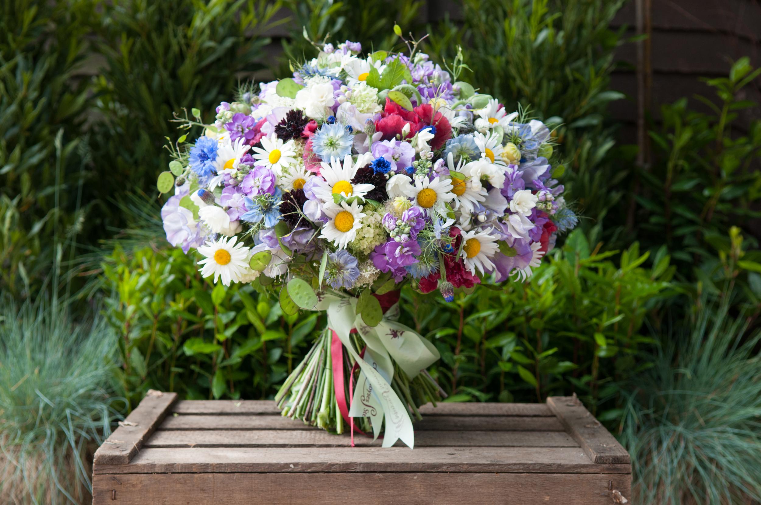Moyses Stevens bouquet for BFW 2015