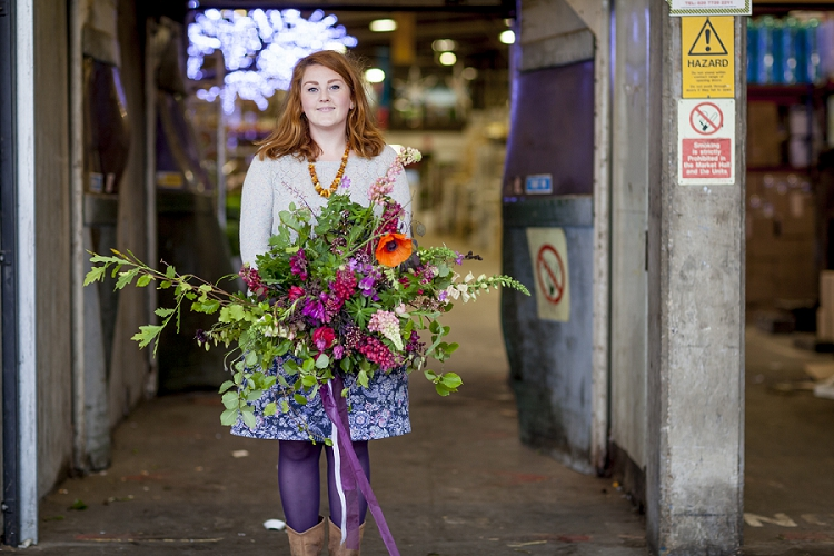 British Flowers Week 2015 Day 4 - Jay Archer - Lupins - Presented to you by New Covent Garden Flower Market