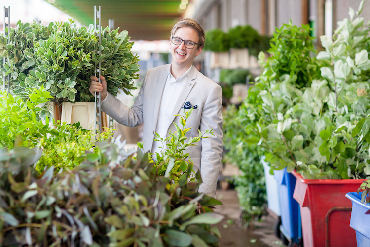 Day 1 British Flowers Week 2016, featuring Phillip Hammond of The Dorchester, presented to you by New Covent Garden Flower Market