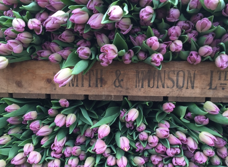 British Flowers Week 2016, Gorgeous Tulips by Smith & Munson, presented to you by New Covent Garden Flower Market and NFU