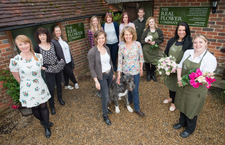 British Flowers Week 2016, featuring The Real Flower Co Team, presented to you by New Covent Garden Flower Market