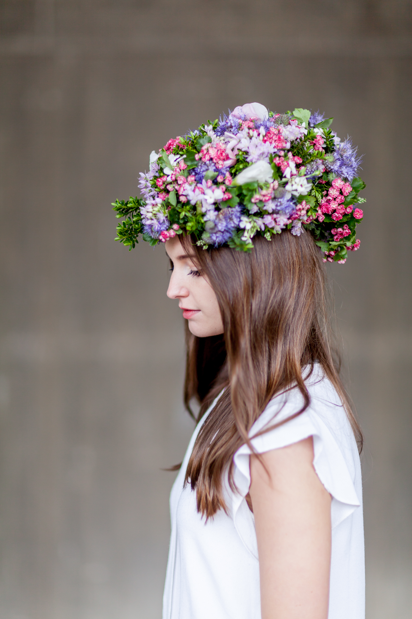 Day 2 of British Flowers Week 2016, featuring a cycle helmet created by Florence Kennedy of Petalon, presented to you by New Covent Garden Flower Market