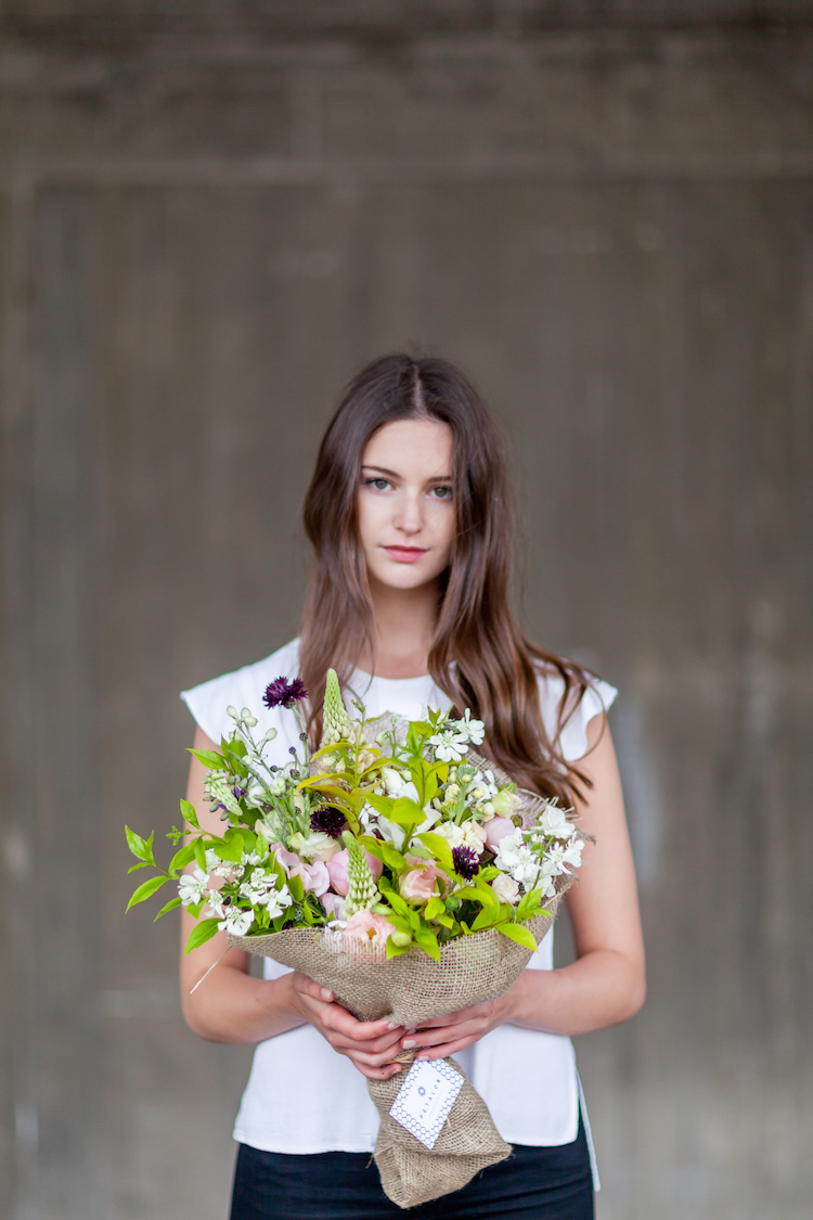 Day 2 of British Flowers Week 2016, featuring a stunning Full English Bouquet designed by Florence Kennedy of Petalon, presented to you by New Covent Garden Flower Market