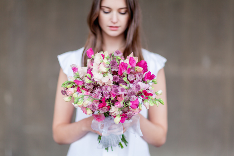 Day 3 of British Flowers Week 2016, featuring a bridal bouquet designed by Amanda Austin, presented to you by New Covent Garden Flower Market