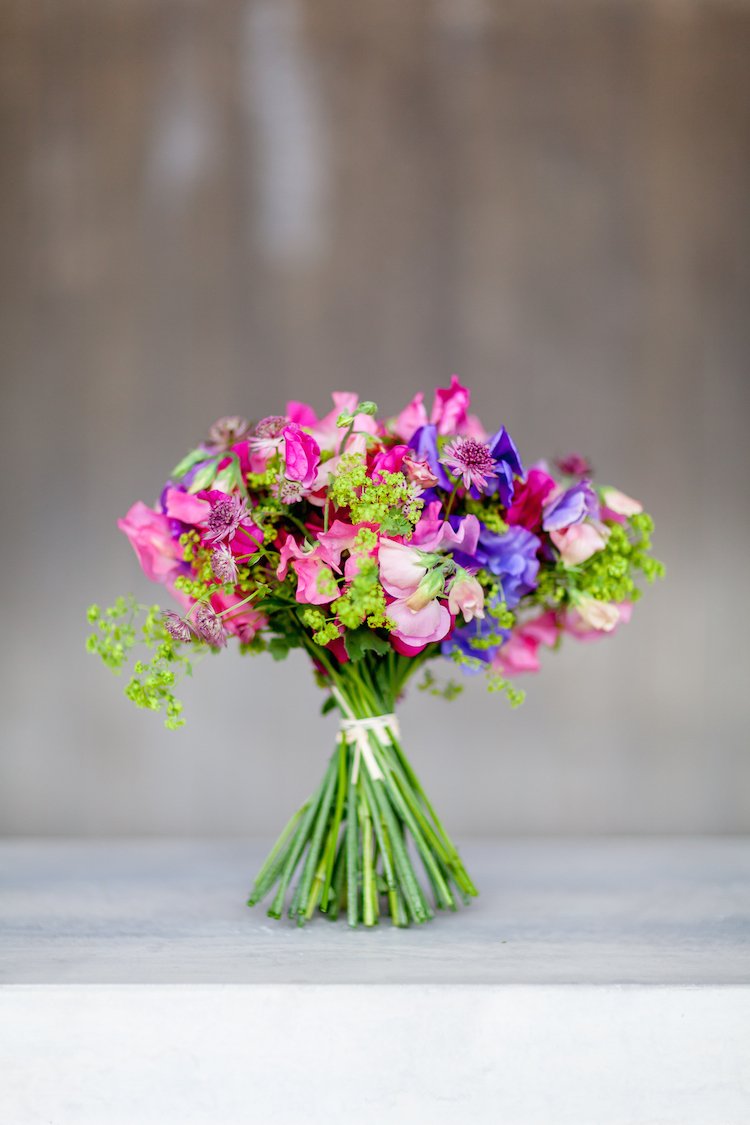 Day 3 of British Flowers Week 2016, featuring a retail bouquet designed by Amanda Austin, presented to you by New Covent Garden Flower Market