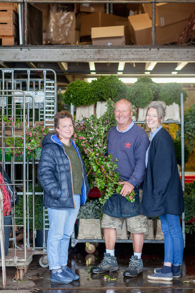 Day 4 of British Flowers Week 2016, featuring Anna Day and Ellie Jauncey of The Flower Appreciation Society and David Gorton from GB Foliage, presented to you by New Covent Garden Flower Market