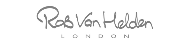 Rob Van Helden, logo, presented to you by New Covent Garden Flower Market