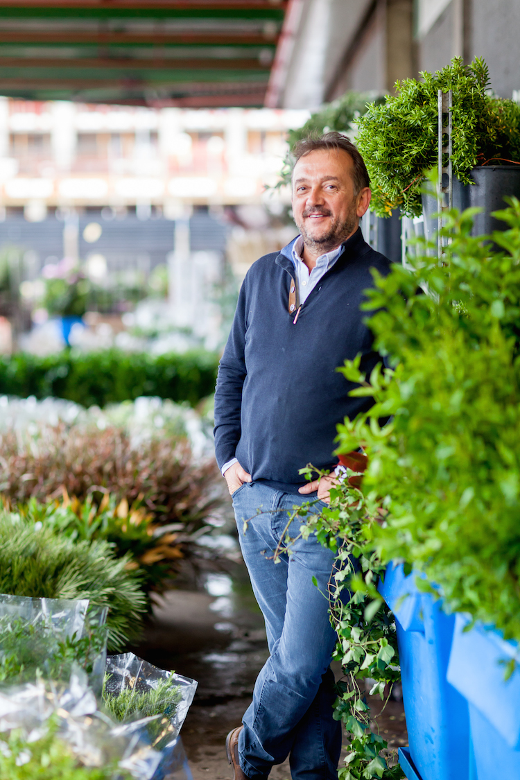 Day 5 of British Flowers Week, featuring Rob Van Helden from Rob Van Helden Floral Design, presented to you by New Covent Garden Flower Market