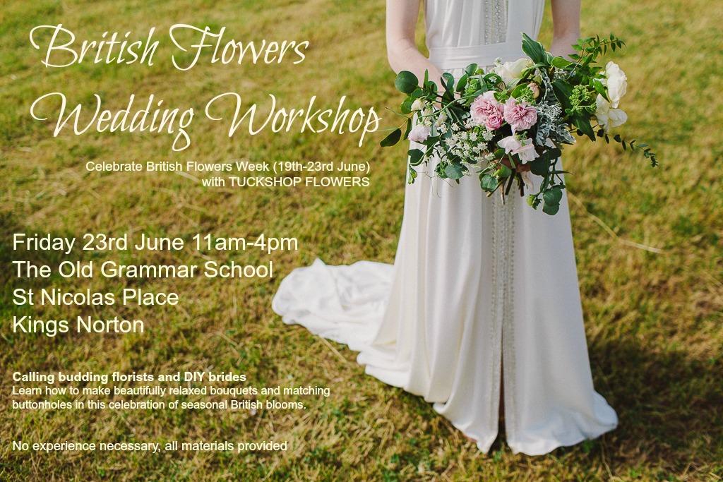 British Flowers Wedding Workshop