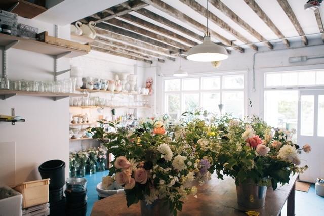 The Flower Appreciation Society bouquet workshop