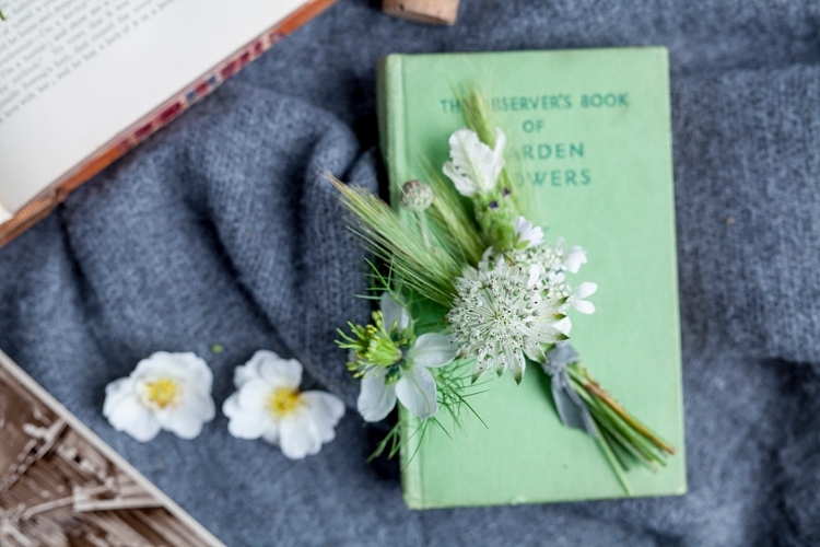 Jennifer Pinder buttonholes for British Flowers Week 2017 by New Covent Garden Flower Market