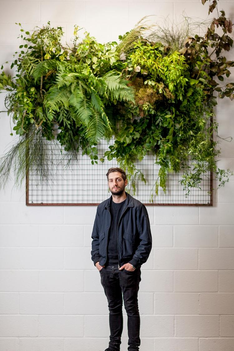 Matthew Richardson, Urban Flower Co for British Flowers Week 2017 by New Covent Garden Flower Market