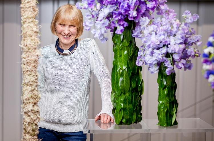Mary Jane Vaughan for British Flowers Week 2017
