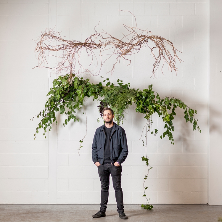 Matt Richardson of Urban Flower Co for British Flowers Week 2017