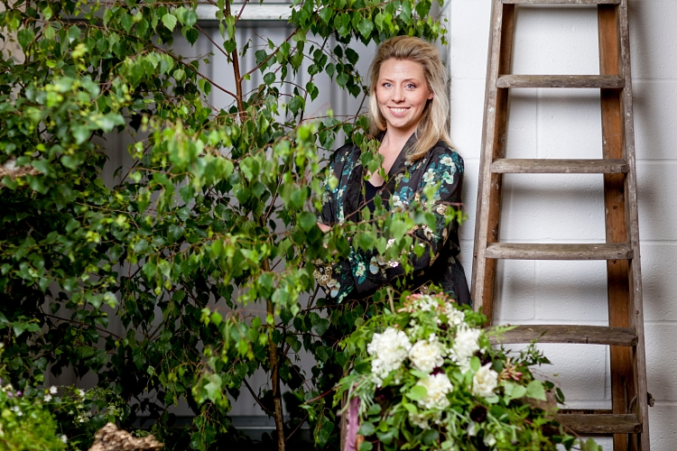 Abigail MacNiven of Petal & Stalk for British Flowers Week 2017