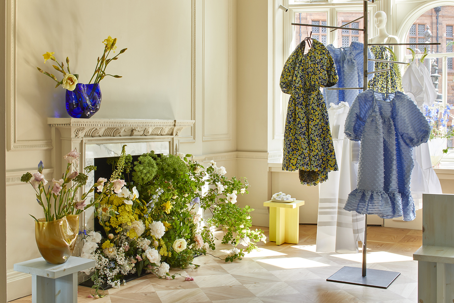MATCHESFASHION.COM x Cecilie Bahnsen Installation at 5 Carlos Place, images by Astrid Templier (11).jpg