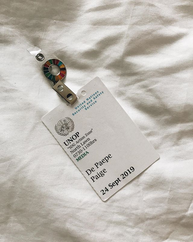 """The security guard at the UN asked me if I was """"a woman of action."""" To which I should have replied: Hell Yeah."""