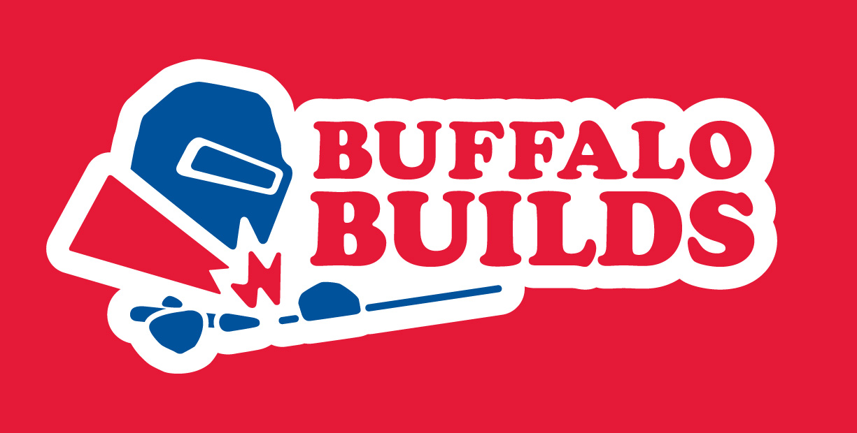 Branding for the  Buffalo Builds , Buffalo's premier custom bicycle frame builder.